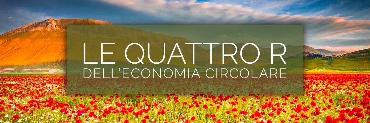 """Le """"Quattro R"""" dell'Economia Circolare"""
