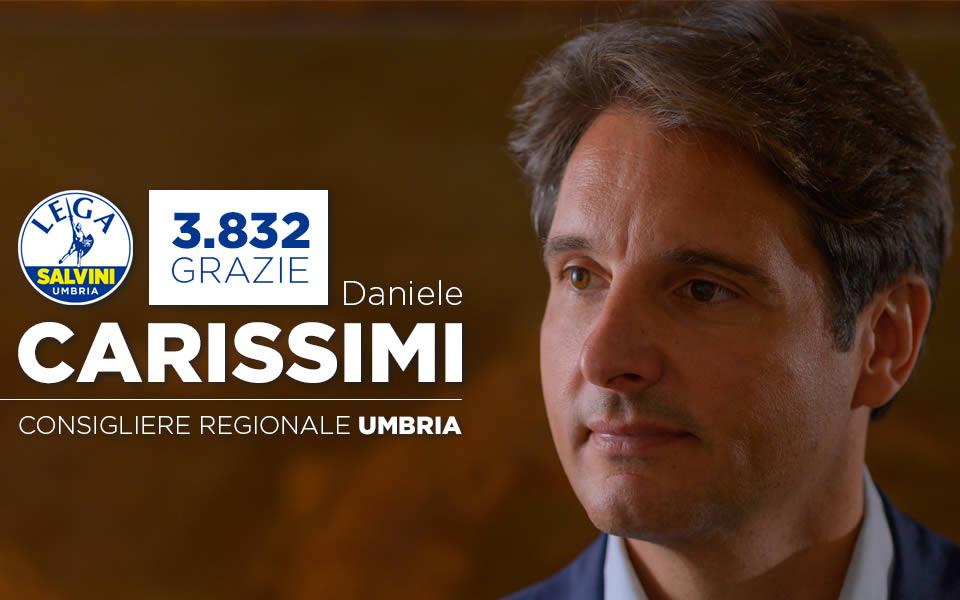 Daniele Carissimi Regionali Umbria 2019